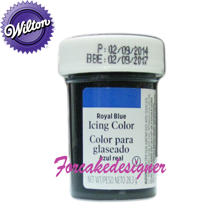 Foto: WILTON colorante in gel ROYAL BLUE