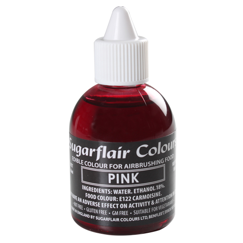Foto: SUGARFLAIR - Colorante per aerografo rosa 60 ml.