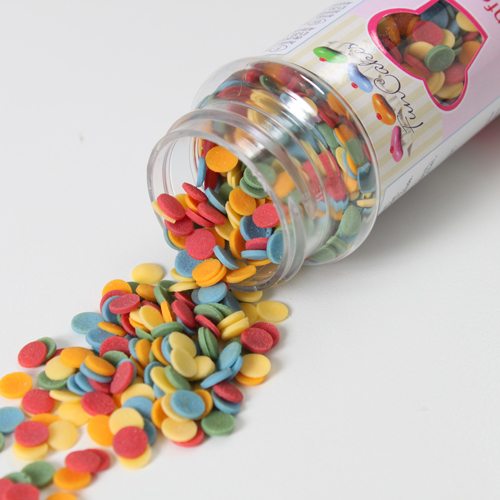 Foto: FunCakes Confetti 6mm colorati 60g
