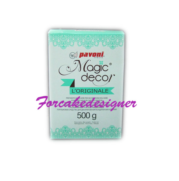 Foto: Pavoni Magic Decor 500 gr