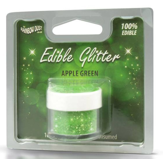Foto: RD Glitter commestibile -holly green- 5g