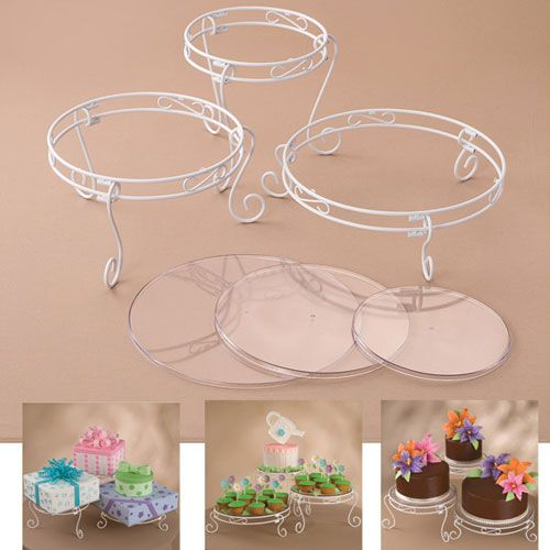 Foto: Wilton Set Cakes and Treats Espositore per Torte