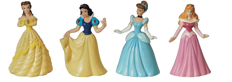 Decorazione Principesse Disney In Plastica Biancaneve