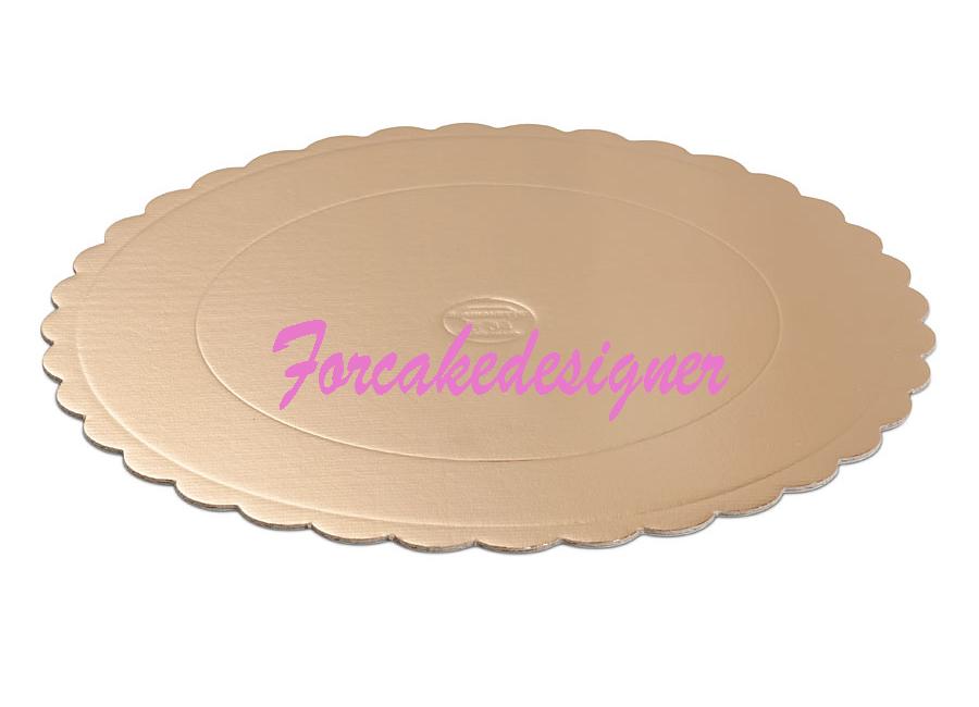 Sottotorta festonato tondo for cake designer accessori - Accessori per cake design ...