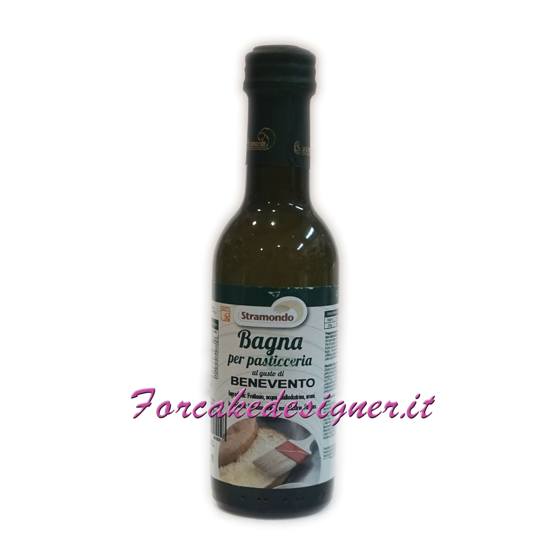 Stramondo - Bagna Analcolica per Torta gusto Benevento 250 gr