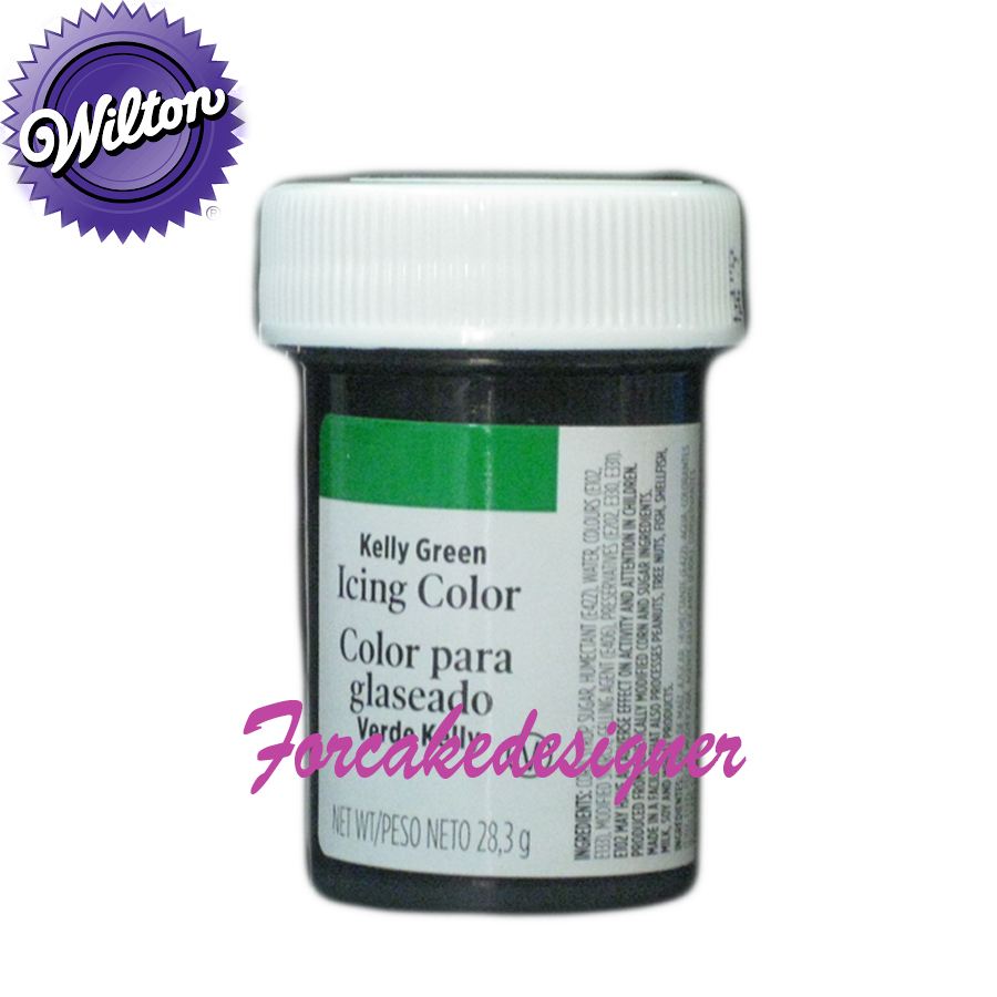 Foto: WILTON Colorante in Gel  Verde Kelly 28GR