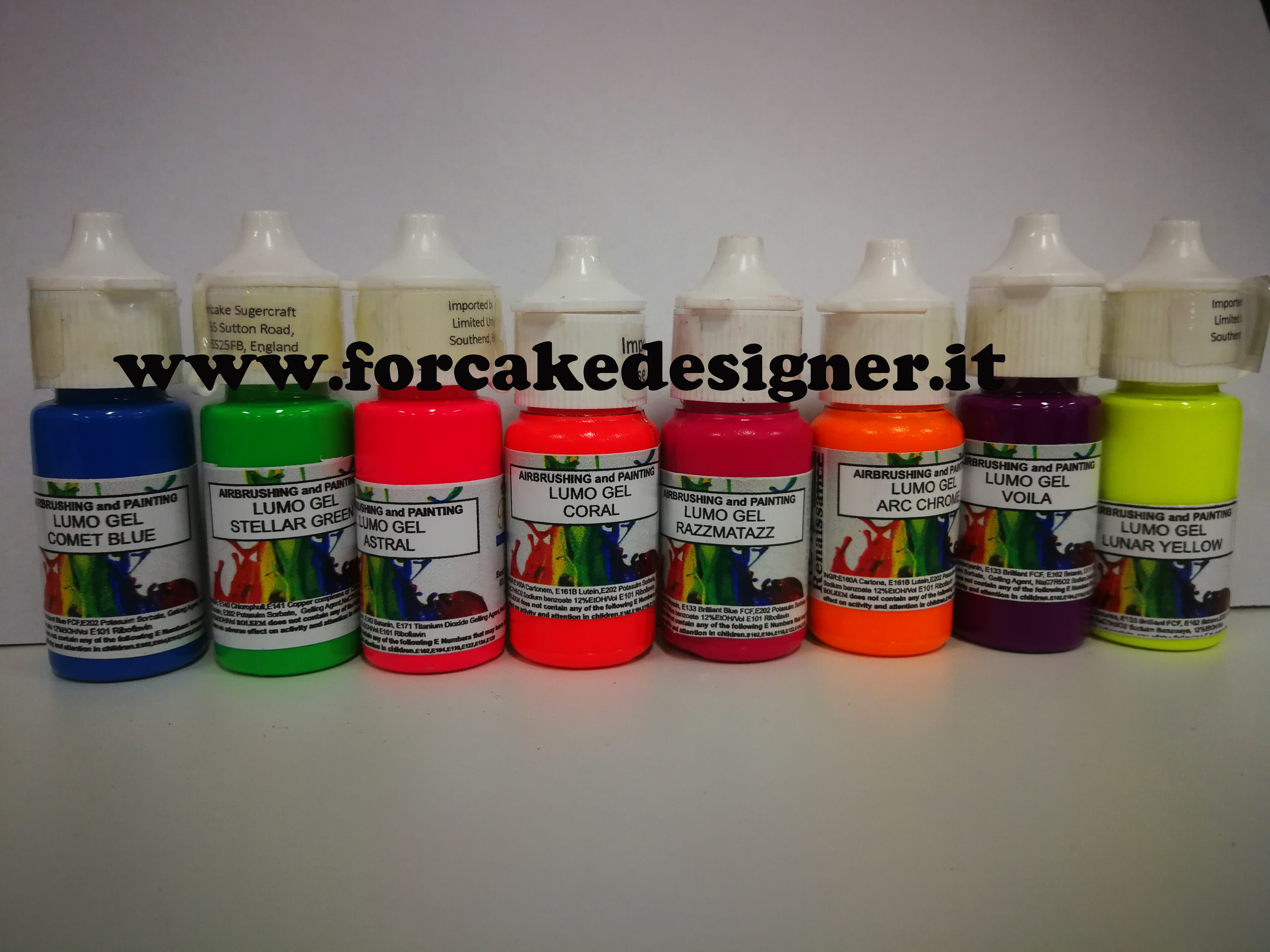 Foto: Rolkem - Lumo Gel Airbrushing and painting Coral 15 ml