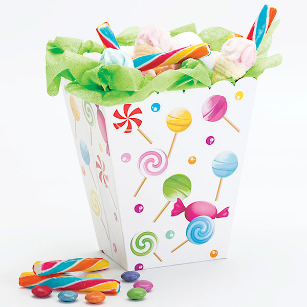 Foto: Party box candy 6,5x8x15 cm pz.4