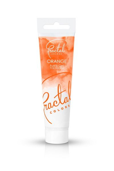 Foto: Fractal - colorante in gel Orange 30 gr.
