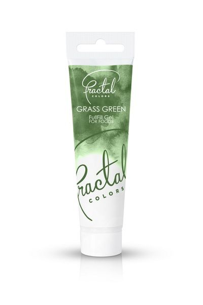 Foto: Fractal - colorante in gel grass green 30 gr