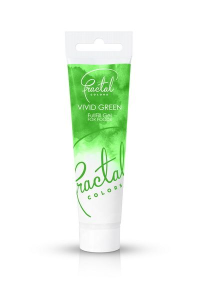 Foto: Fractal - colorante gel vivid green 30 gr.